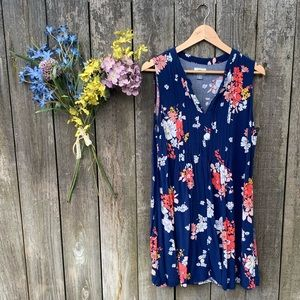 Women's Old Navy Flowered Sundress Size  L